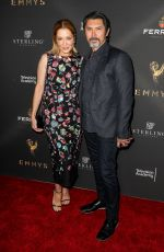 YVONNE BOISMIER PHILLIPS at Emmys Cocktail Reception in Los Angeles 08/22/2017