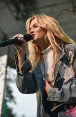 ZARA LARSSON Performs at Ozy Fest 2017 in New York 07/22/2017