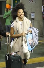 ZAZIE BEETZ at Airport in Vancouver 08/13/2017