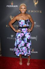 ZEE JAMES at Emmys Cocktail Reception in Los Angeles 08/22/2017