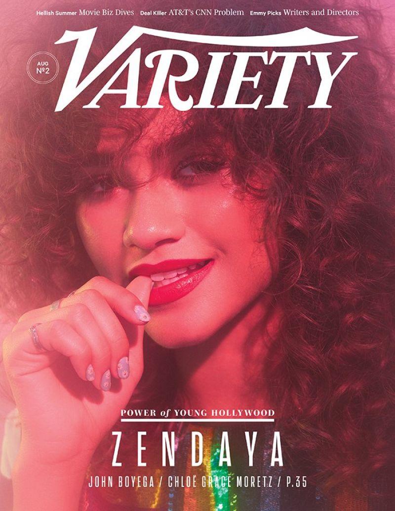 ZENDAYA COLEMAN for Variety Magazine, August 2017
