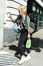 ZOE BALL Arrives at BBC Radio 2 Studios in London 08/05/2017