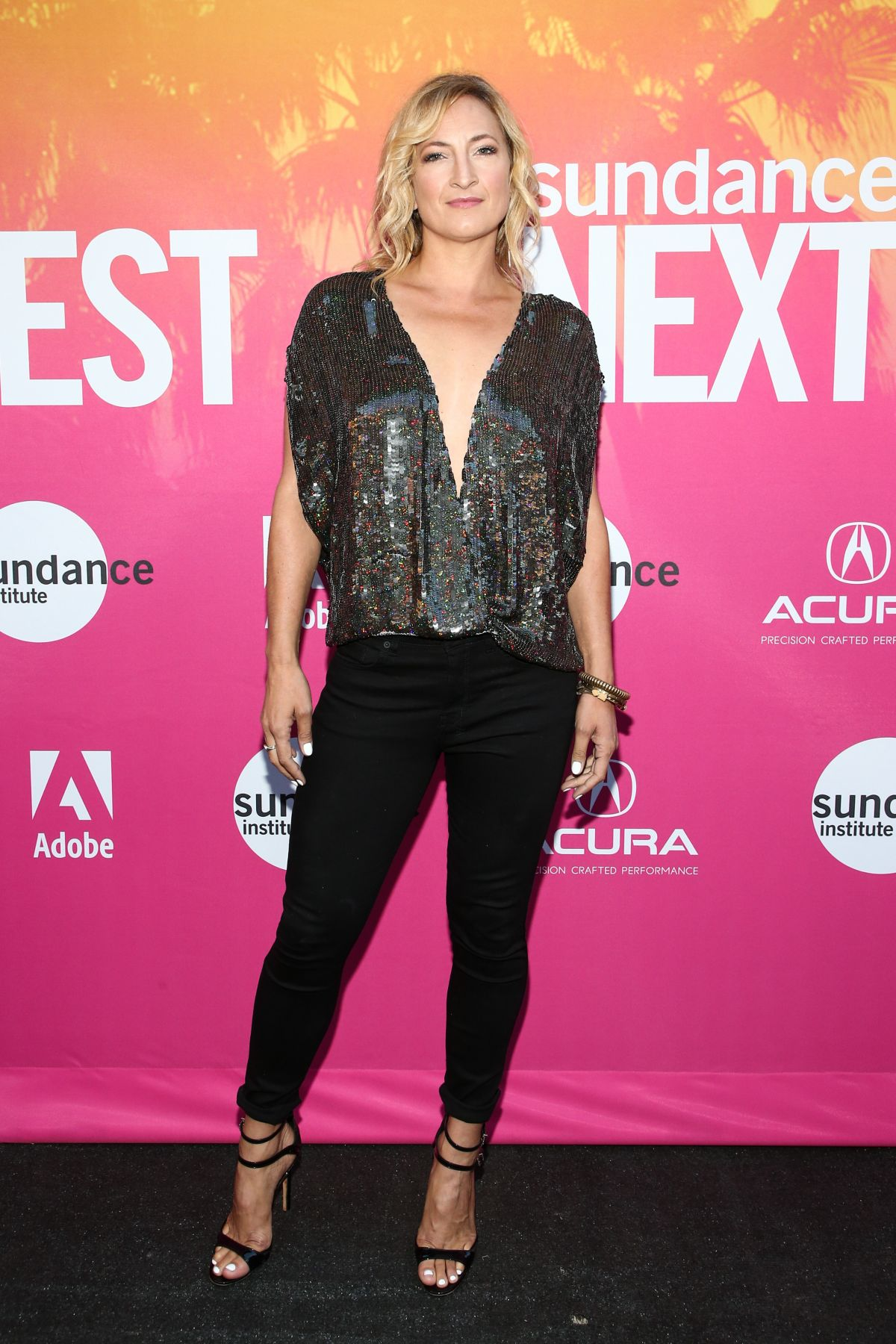 ZOE BELL at Sundance Next Fest Opening Night in Los Angeles 08/10/2017