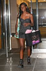 ZURI TIBBY at Fittings for Victoria's Secret Fashion Show in New York 08/29/2017