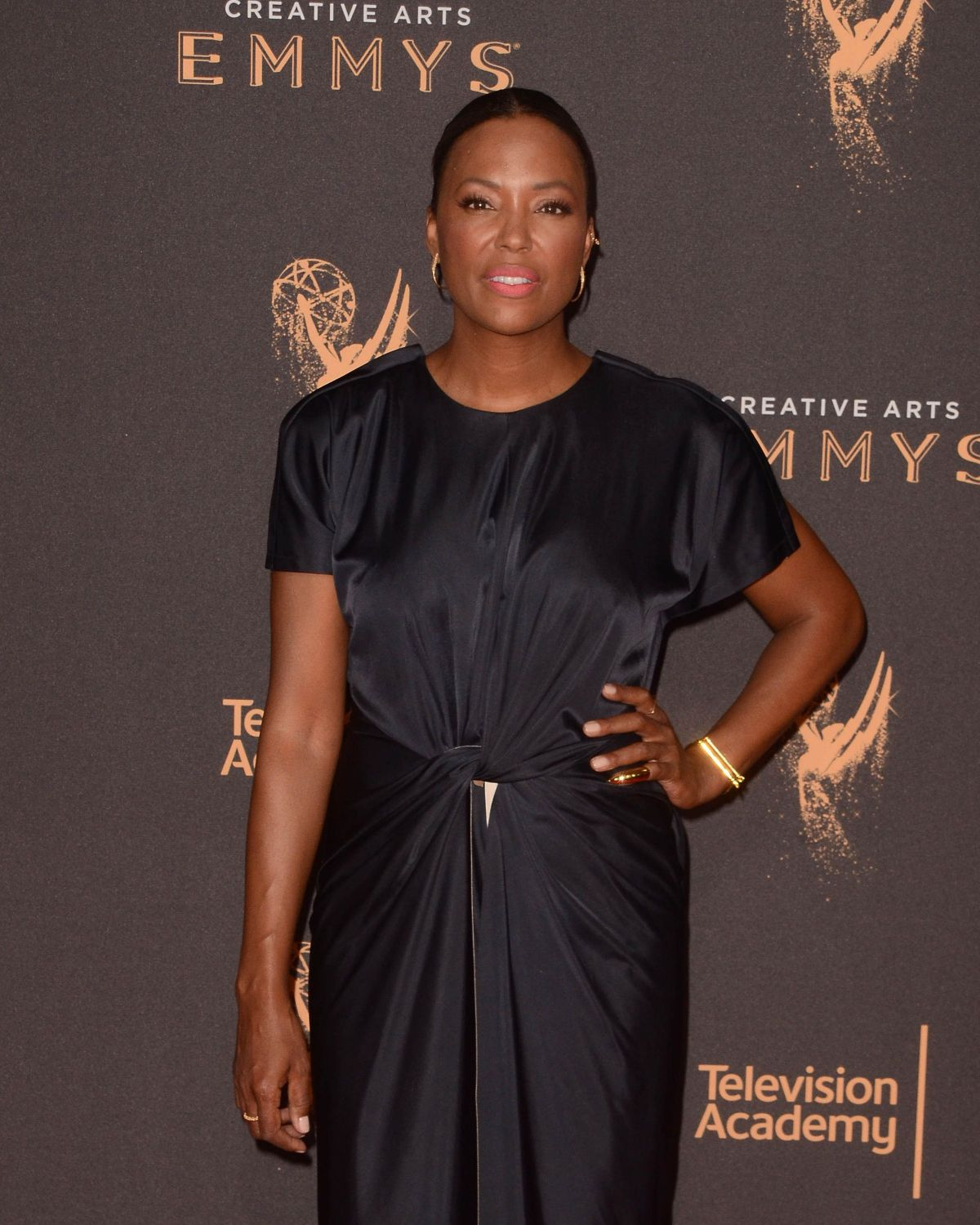 AISHA TYLER at Creative Arts Emmy Awards in Los Angeles 09/10/2017