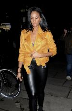 ALESHA DIXON at Fashion Council London Fashion Week Launch Party 09/14/2017