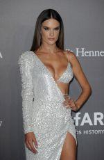 ALESSANDRA AMBROSIO at Amfar Gala in Milan 09/21/2017