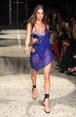 ALESSANDRA AMBROSIO at Julien MaCdonald Fashion Show at London Fashion Week 09/18/2017