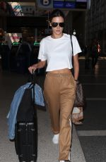 ALESSANDRA AMBROSIO at Los Angeles International Airport 09/26/2017