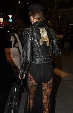 ALESSANDRA AMBROSIO Night Out in Milan 09/19/2017