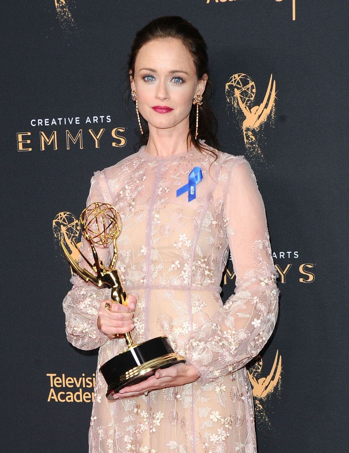 ALEXIS BLEDEL at Creative Arts Emmy Awards in Los Angeles 09/10/2017