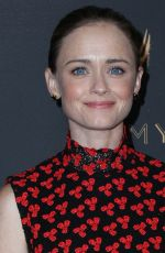ALEXIS BLEDEL at Television Academy 69th Emmy Performer Nominees Cocktail Reception in Beverly Hills 09/15/2017
