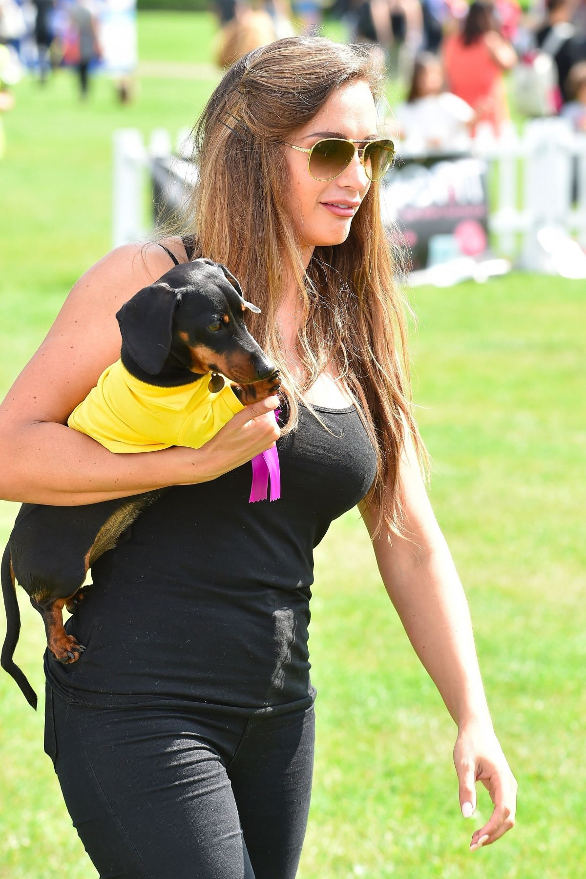 ALI DREW at Pupaid 2017 in London 09/02/2017