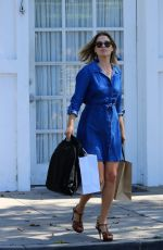 ALI LARTER Out Shopping in Los Angeles 09/11/2017