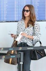 ALICA VIKANDER at Pearson International Airport in Toronto 09/13/2017