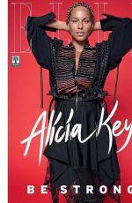 ALICIA KEYS for Elle Magazine, Brazil September 2017