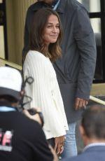 ALICIA VIKANDER Arrives at 65th San Sebastian Film Festival 09/22/2017