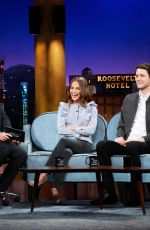 ALICIA VIKANDER at Late Late Show with James Corden 09/19/2017