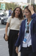 ALICIA VIKANDER Out and About in San Sebastian 09/22/2017