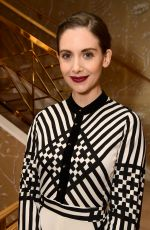 ALISON BRIE at Glamour x Tory Burch Women to Watch Lunch in Beverly Hills 09/15/2017