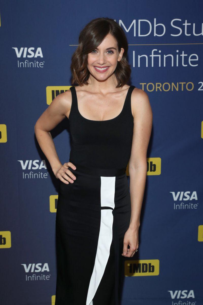 ALISON BRIE at imdb Studio at 2017 Toronto International Film Festival 09/10/2017