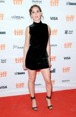 ALISON BRIE at The Disaster Artist Premiere at 2017 TIFF in Toronto 09/11/2017