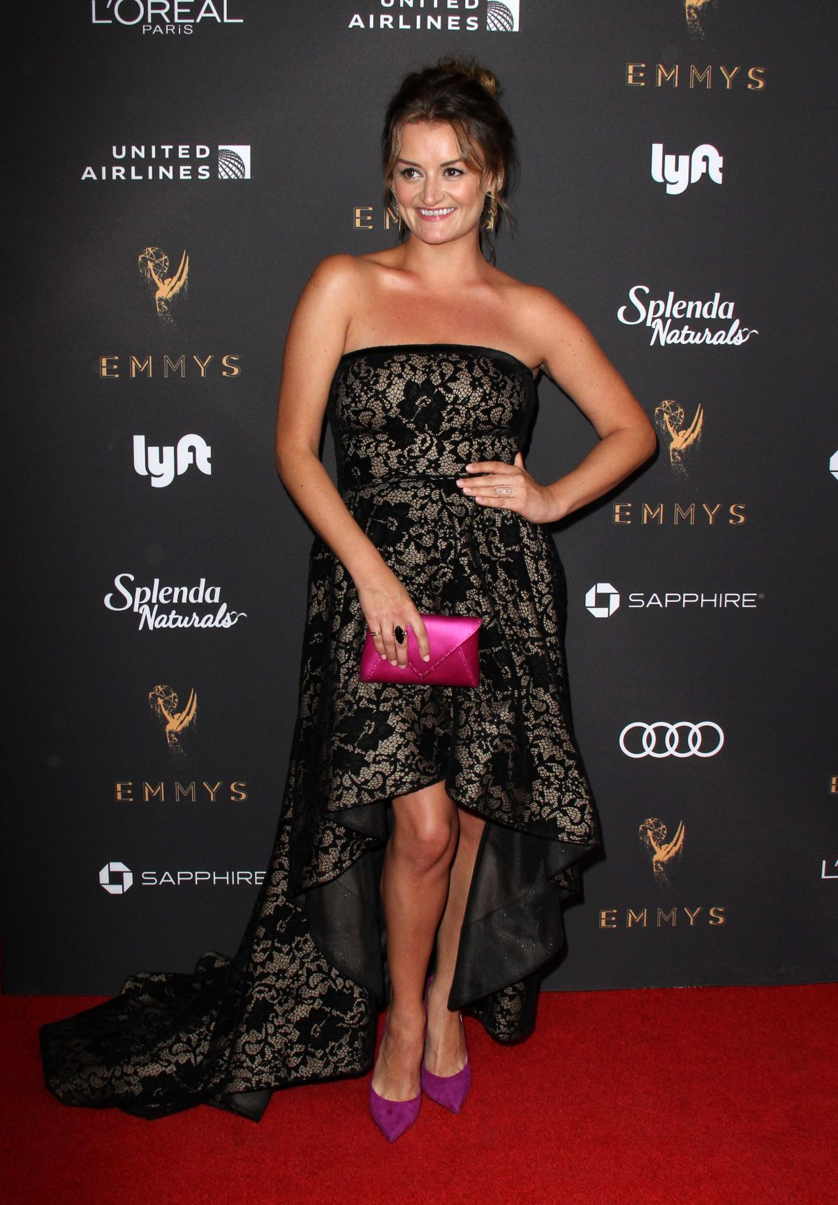 ALISON WRIGHT at Television Academy 69th Emmy Performer Nominees Cocktail Reception in Beverly Hills 09/15/2017
