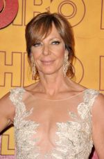 ALLISON JANNEY at HBO Post Emmy Awards Reception in Los Angeles 09/17/2017