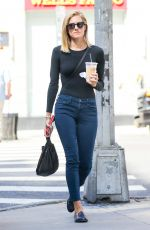 ALLISON WILLIAMS Out for Coffe in New York 09/15/2017
