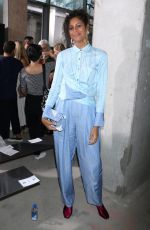 ALUNA FRANCIS at 3.1 Phillip Lim Fashion Show at New York Fashion Week 09/11/2017
