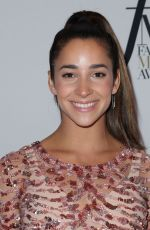 ALY RAISMAN at Daily Front Row's Fashion Media Awards in New York 09/08/2017