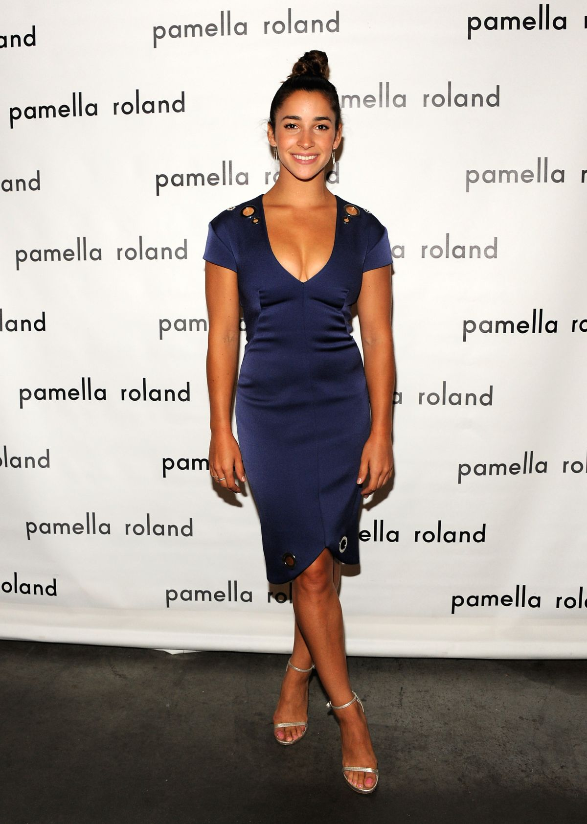 ALY RAISMAN at Pamella Roland Fashion Show at New York Fashion Week 09/06/2017