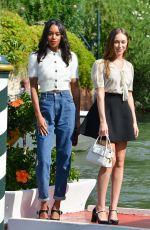 ALYCIA DEBNAM-CAREY and LAURA HARRIER at 74th Venice International Film Festival 09/02/2017