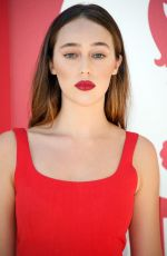 ALYCIA DEBNAM-CAREY at Miu Miu Women's Tales Photocall at Venice Film Festival 08/31/2017