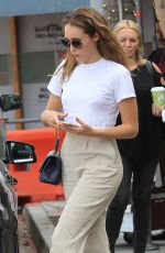 ALYCIA DEBNAM CAREY Out and About in Beverly Hills 09/14/2017