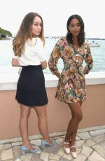 ALYCIA DEBNAM-CAREY Out for Lunch at Hotel Cipriani in Venice 09/01/2017