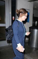 ALYSSA MILANO at Los Angeles International Airport 09/02/2017
