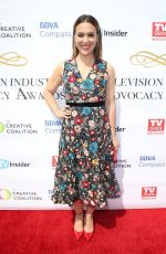 ALYSSA MILANO at Television Industry Advocacy Awards in Hollywood 09/16/2017