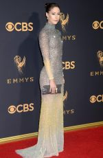 AMANDA CREW at 69th Annual Primetime EMMY Awards in Los Angeles 09/17/2017