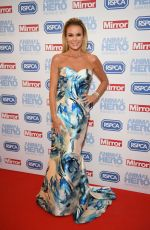 AMANDA HOLDEN at Animal Hero Awards 2017 in London 09/07/2017