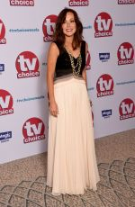 AMANDA MEALING at TV Choice Awards in London 09/04/2017