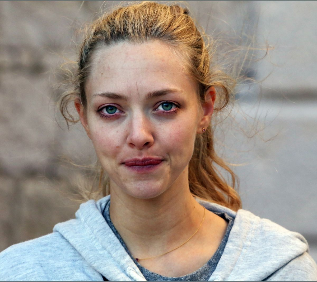 AMANDA SEYFRIED Makeup Free Out in Croatia 09/21/2017 ... Amanda Seyfried
