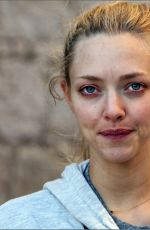 AMANDA SEYFRIED Makeup Free Out in Croatia 09/21/2017