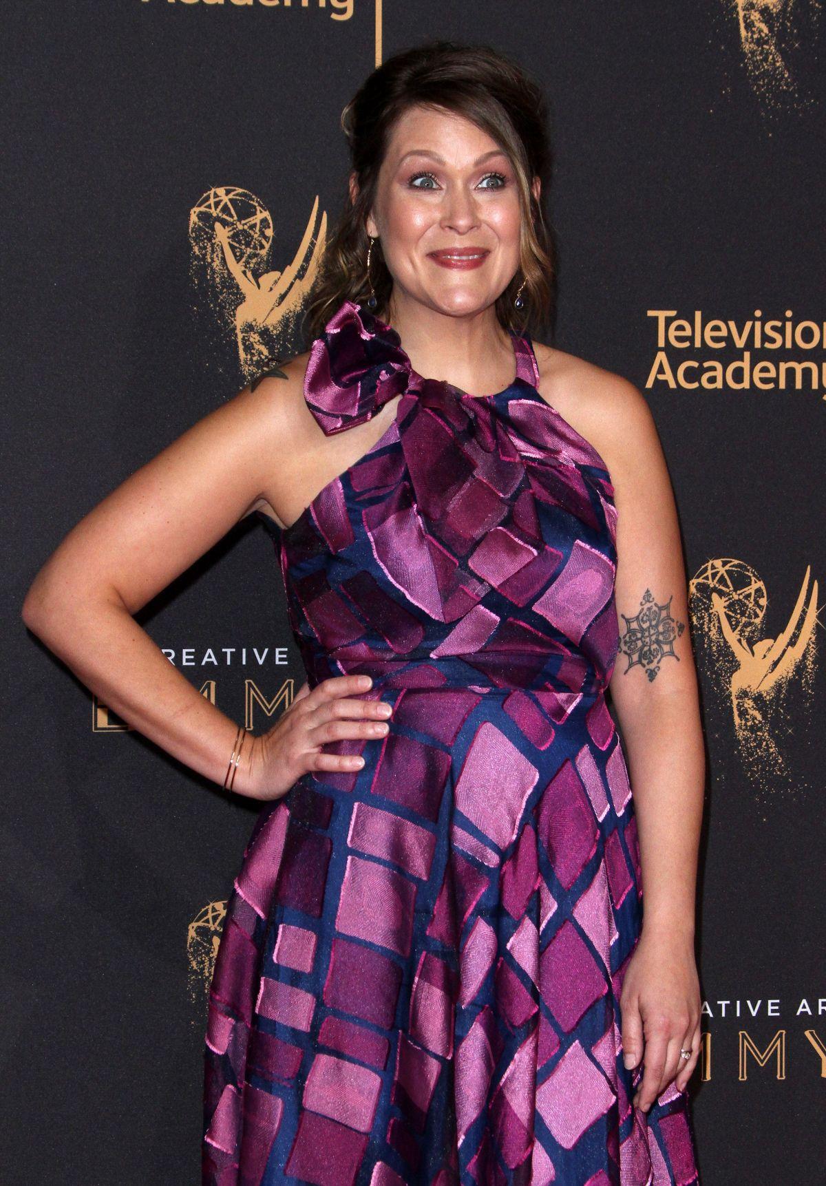 AMBER NASH at Creative Arts Emmy Awards in Los Angeles 09/10/2017