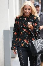 AMELIA LILY Leaves Wright Stuff in London 09/04/2017