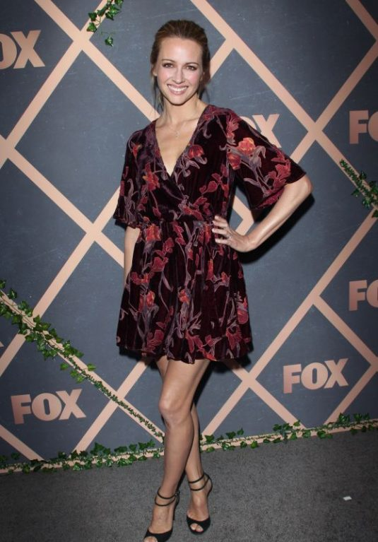 AMY ACKER at Fox Fall Premiere Party Celebration in Los Angeles 09/25/2017