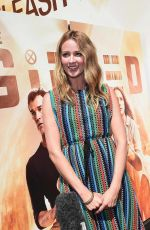 AMY ACKER at The Gifted Vending Machine Stunt at The Grove in Los Angeles 09/24/2017