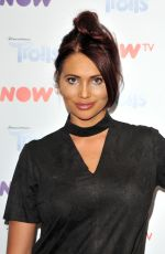 AMY CHILDS at Now TV Pop-up Troll Beauty Salon VIP Launch in London 09/02/2017