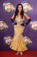 AMY DOWDEN at Strictly Come Dancing 2017 Launch in London 08/28/2017
