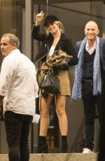 ANA DE ARMAS Arrives at Her Hotel in Madrid 09/18/2017